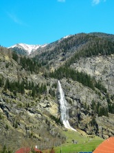 Fallbach - the highest waterfall in Austria