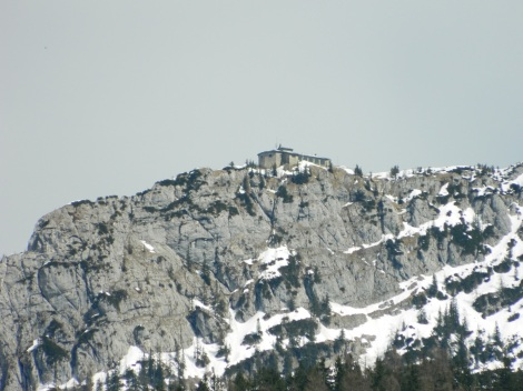 Hitler's Eagle's Nest at the top of the Kehlstein mountain