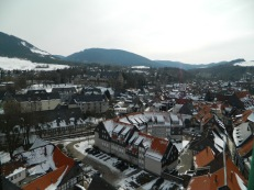 Harz Mountains from Sinta Anna tower