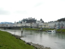 The Altstadt from the Salzach River