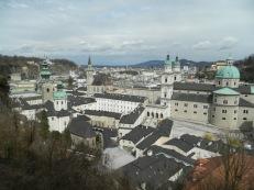 Altstadt from Festung Hohensalzburg