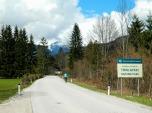 Cycling into Triglavski National Park