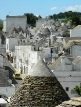 Alberobello village scape