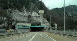 The entrance to Karawanken Tunnel