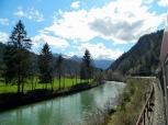 Splendid views from the train