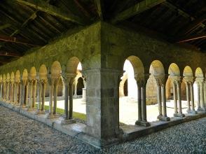 Quiet cloister corner