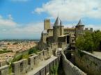 Between the fortress walls