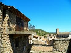 Les Arcs hillside Templar town