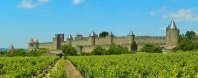 The fortified town of Carcassonne
