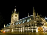 Ypres' Cloth Hall by night