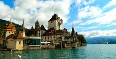Oberhofen Castle on Thunersee