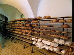 The 15th century Holzofen bakery