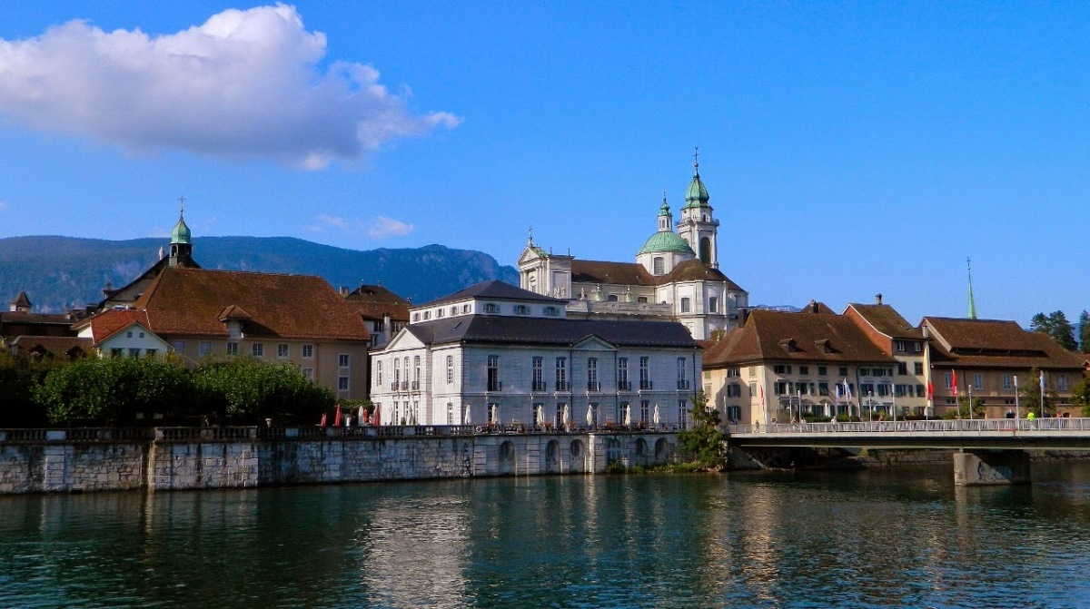 Week 5: Into Switzerland, Solothurn