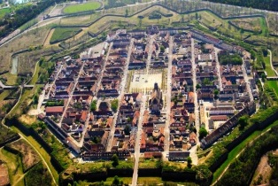 Unesco Neuf-Brisach from above