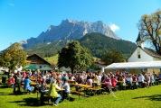Ehrwald's annual farmers' market