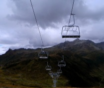 Eerie looking chair lifts