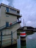 Up and over the Rheinhafen-Dampfkraftwerk