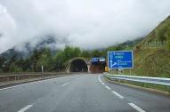 Arlberg, Austria's longest road tunnel