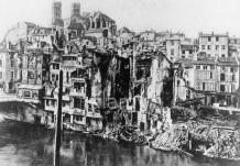 Verdun in ruins 1916