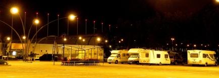 Clustered vans for safety