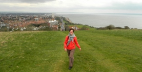 Up and above Eastbourne