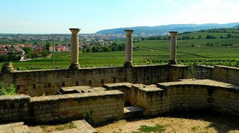 A Roman's view at Weilburg Villa