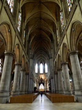 Austria's largest Cathedral, Neu Dom, at Linz