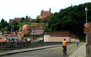 Crossing the Neckar