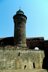 Fortified walls and tower