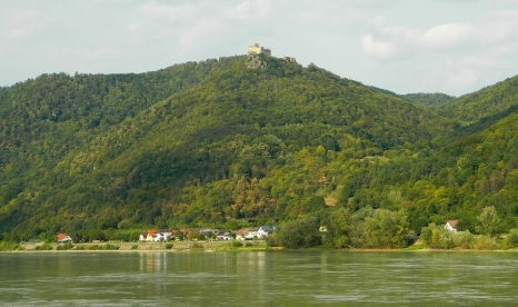 Fortress Aggstein on the Donau