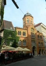 Greek taverna where Strauss dined