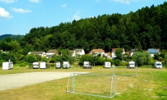 Hirschhorn aire at the football field