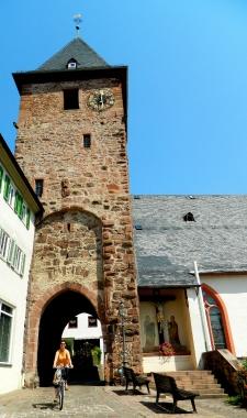 Hirschhorn gate tower