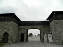 'Inmates' entrance to camp