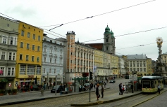 Linz central square