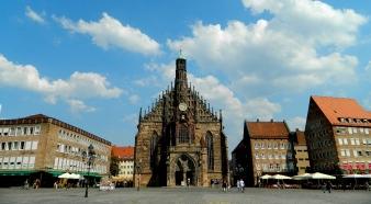Nuremberg's rebuilt Gothic cathedral