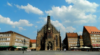 Nuremberg's rebuilt Gothic cathedral