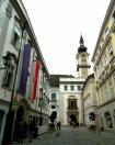 Outside Mozart's house