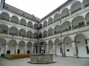 Rathaus interior courtyard