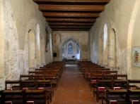 Roman St Martin's church interior