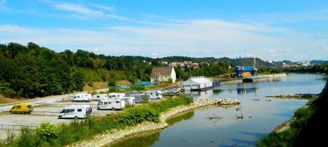 Spot Bertha at Passau aire