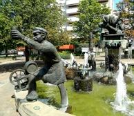 Wurstmarkt Fountain