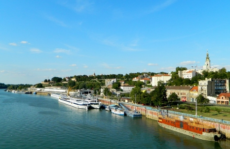 Belgrade Stari Grad on the Sava