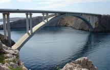 Bridge onto the island