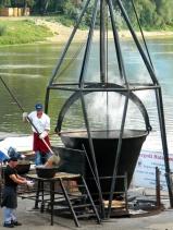 Dishing up fish goulash