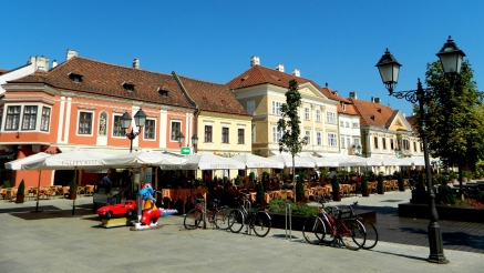 Gyor's Main Square