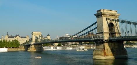Historic chain bridge