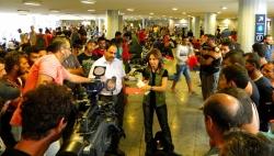 Hungarian TV reporter