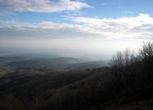 Moslavacka Gora alongside the A3