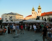 Wine festival in Main Square